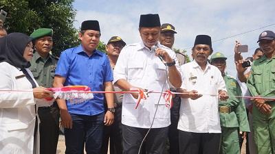 Balai Adat Dipercantik, Mustafa Minta Warga Lestarikan Seni dan Budaya Lampung