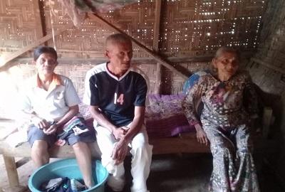 Tidak Ada Uang Untuk Renovasi Rumah Warga Lamtim Ini Hampir Rubuh, Pemerintah Diminta Membantu
