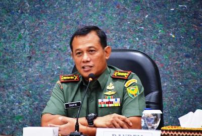Komandan Korem 043/Gatam Kolonel Inf Taufiq Hanafi Pimpin Rapat Koordinasi Kesiapan Latihan Ancab Brigif PR 17/1/K Tahun 2019