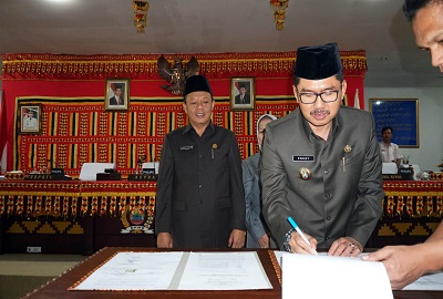 DPRD Lam-sel Gelar Rapat Paripurna Nota Kesepakatan Terkait (KUPA – PPAS) APBD T.A. 2019