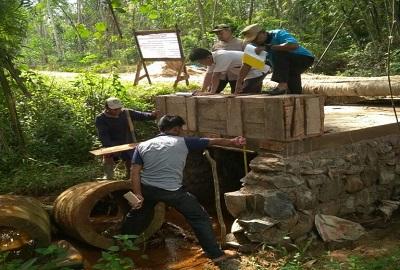 Pembangunan Sembilan Titik Gorong – gorong Didesa Sidomulyo Terus Dikebut