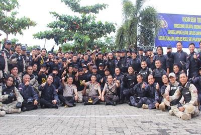 Mantan Kapolda Lampung Mengapresiasi Capaian Kinerja Tekab 308