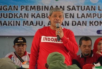 Bupati Lamteng Beri Bantuan Untuk Petani Kecamatan Seputih Mataram