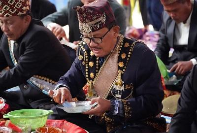 Bupati Pesisir Barat Hadiri Acara Pagelaran Budaya Marga