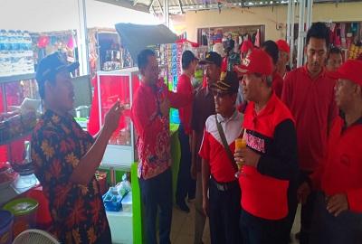 Loekman Resmikan Pasar Kuliner Tugu Putih Di Kampung Bina Karya Utama Kecamatan Putra Rumbia