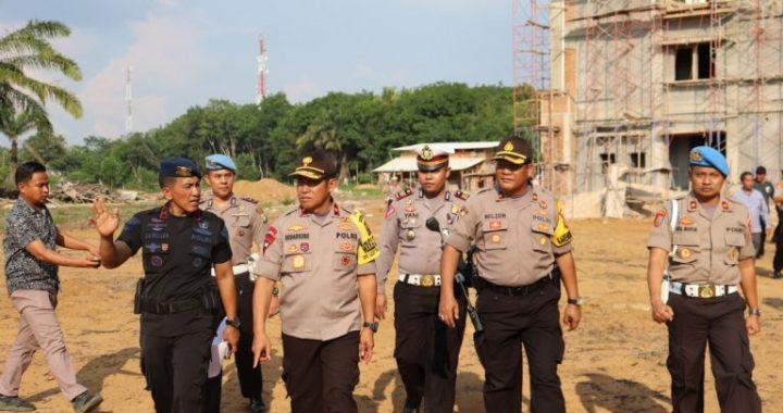 Pold Lampung Medirikan Mako Brimob Diatas.Lahan 2,6 Hektar