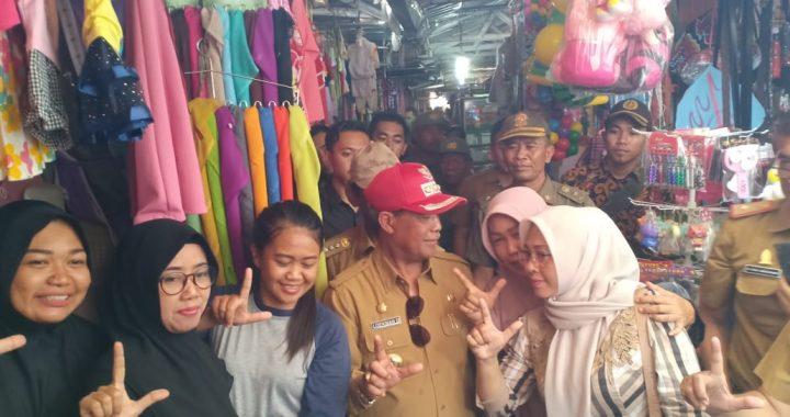 Bupati Loekman Meresmikan Pasar Rukti  Harjo, Kecamatan Seputih Raman