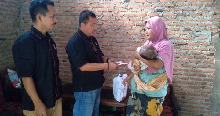 SMSI Lampung Santuni Balita Penderita Hidrosefalus Dan Bibir Sumbing