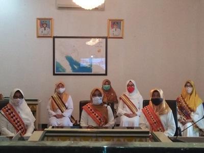 TP PKK & DWP Tangggamus, Ikuti Halal bi Halal Bersama TP PKK dan DWP Provinsi