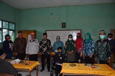 Peduli Pendidikan, Bunda PAUD Lampung Tengah Melakukan Kunjungan Kerja ke Kampung Binjai Ngagung.