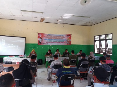 Jelang Pilkada Lampung Tengah, PPK Kecamatan Gunung Sugih Gelar Rakor