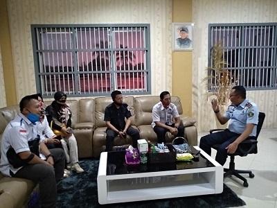 Demi Pendataan Calon Pemilih untuk Pilkada, KPU Lamteng datangi Lapas II B Gunung Sugih