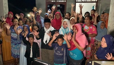 Program Ronda Kampung Nessy-Imam Mendapat Antusias Lebih Masyarakat Terbanggi Besar