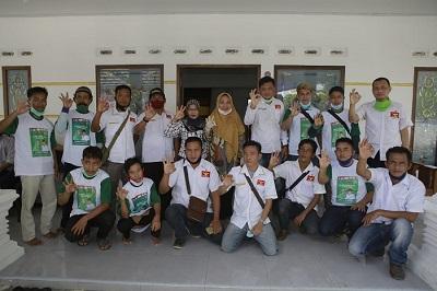 Paslon Nessy-Imam Mendapat Dukungan Dari Partai Garuda Lampung Tengah