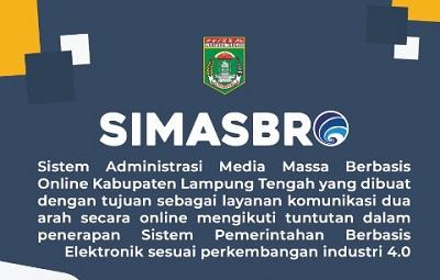 Dinas Komunikasi dan lnformasi Kabupaten Lampung Tengah Terpaksa Batalkan Penerapan SIMASBRO