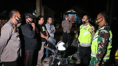 Kapolres Lampung Tengah Bersama Dandim 0411 Pimpin Apel Pelaksanaan Patroli Skala Besar Pilkada Lampung Tengah