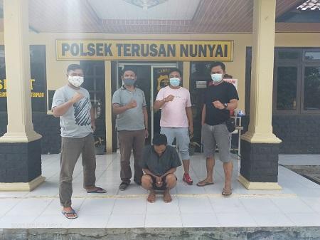 Polsek Terusan Nunyai, Berhasil Mengungkap Hasil Kejahatan HMN Als Man.