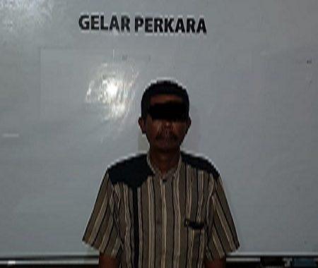 Oknum Warga Seputih Mataram Lampung Tengah, Ditangkap Karena Memiliki Senpi Jenis Pistol FN