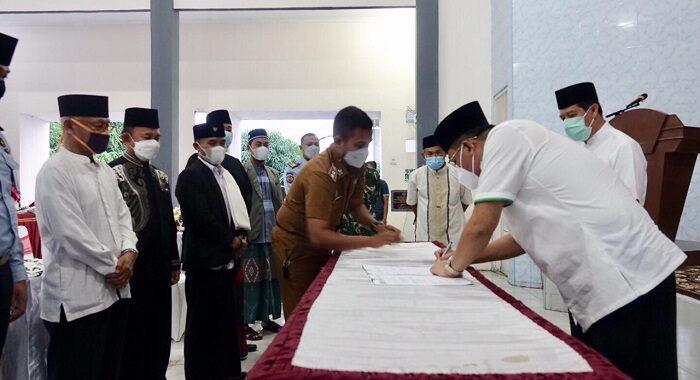 Bupati Lamteng Musa Ahmad Menyambut Baik Kerjasama Dengan Lapas Kelas II B Gunung Sugih