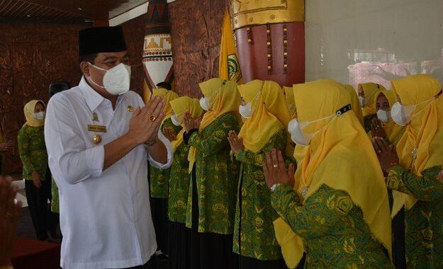 Bupati Lampung Tengah Musa Ahmad Mengucapkan Selamat Kepada Jajaran Pengurus Pengajian Al-Hidayah