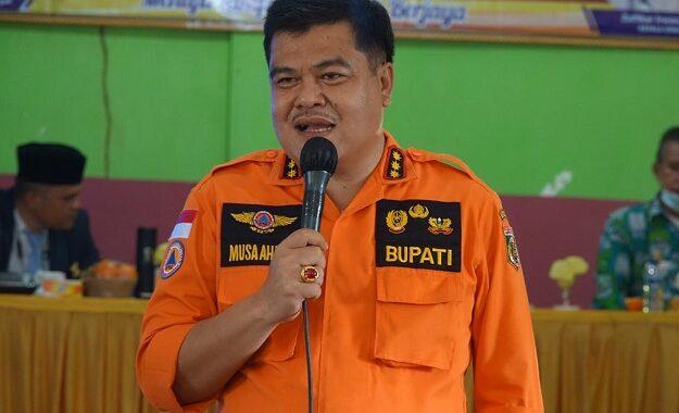 Bupati Lampung Tengah Musa Ahmad Lakukan Kunjungan Kerja Ke Trimurjo