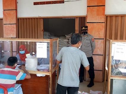 Polres Lampung Utara Amankan penyaluran Bantuan Soial Tunai (BST)