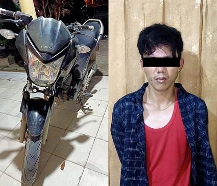 Pelaku Curat Ditangkap Dirumahnya Oleh Anggota Polsek Rumbia Lampung Tengah
