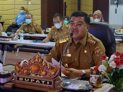 Bupati Musa Ahmad Target Lampung Tengah Peringkat Pertama Penilaian MCP KPK RI
