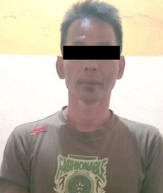 Anggota Polsek Seputih Surabaya Lampung Tengah Melakukan Penangkapan Pelaku Curas Dobrak Rumah