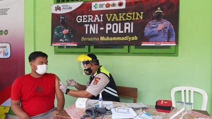 Hari Ini Buka Dua Gerai Vaksin Presisi Di Poliklinik Polres Lampung Tengah Serta Di SMK Muhamadiyah Bandar Jaya Untuk Masyarakat Vaksinasi Covid-19.